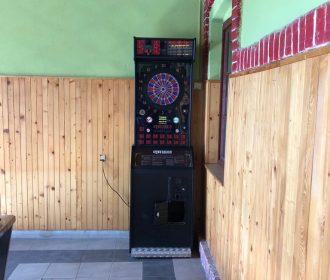 Zábavné automaty sa tešia veľkej obľube aj v tomto podniku